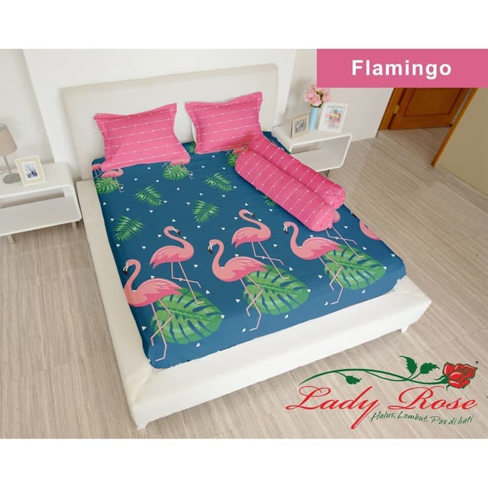 Jual Bebas Ongkir 2020 Lady Rose Sprei King Flamingo Kota Bekasi Arkhanzaa Tokopedia