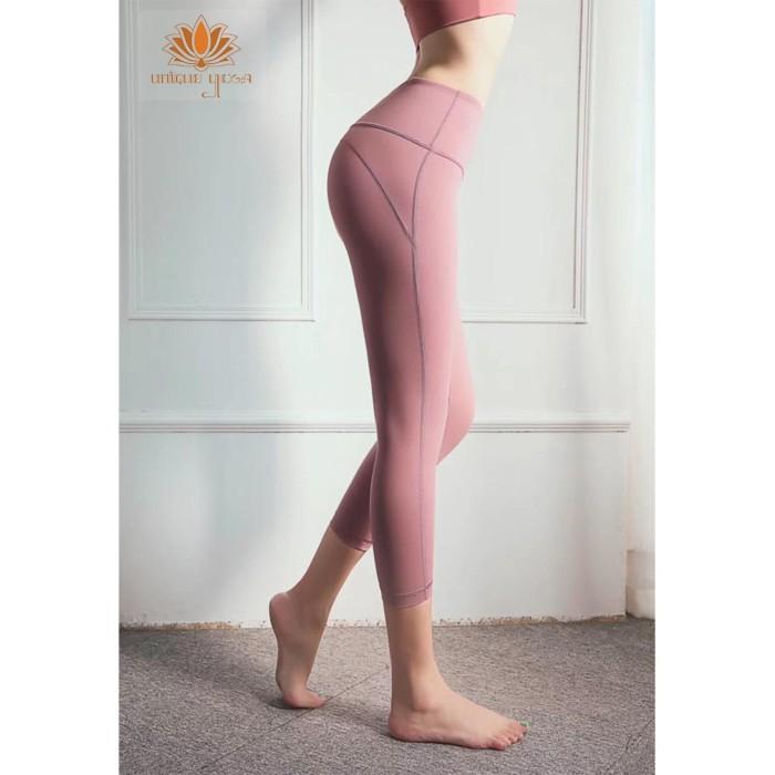 Jual Celana Legging Yoga Wanita Terbaru Legging Fitness 7 8 Bk 1216 Pink Jakarta Utara Unique Yoga Shop Tokopedia
