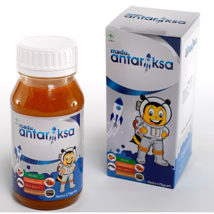 Foto Produk Madu Antariksa Vitamin Penambah Nafsu Makan Anak dan Imun Tubuh dari Sang Antariksa