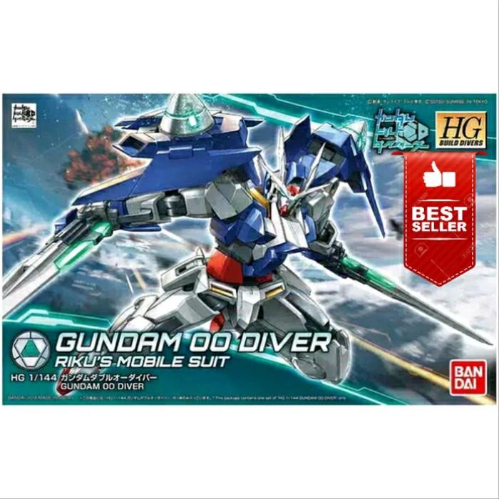 Jual Gundam Bandai Hg 1 144 Hgbd 00 Oo Diver Rikus Mobile Suit Jakarta Barat Makistore0179 Tokopedia