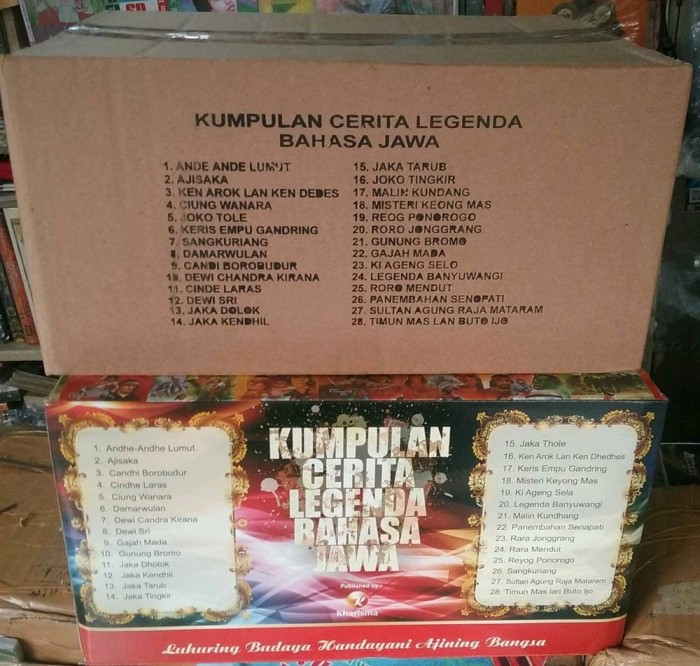 Jual Buku Cerita Legenda Versi Bahasa Jawa 1 Paket Terlaris Jakarta Barat Obeliana Tokopedia
