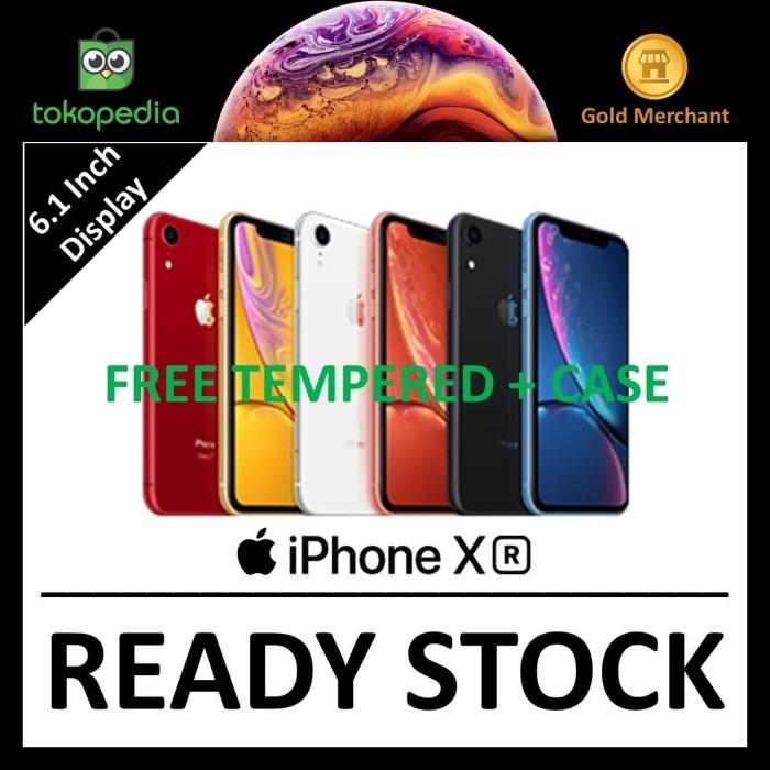 Jual DUAL SIMApple iPhone XR 64GB Black/Blue/Coral/Red ...