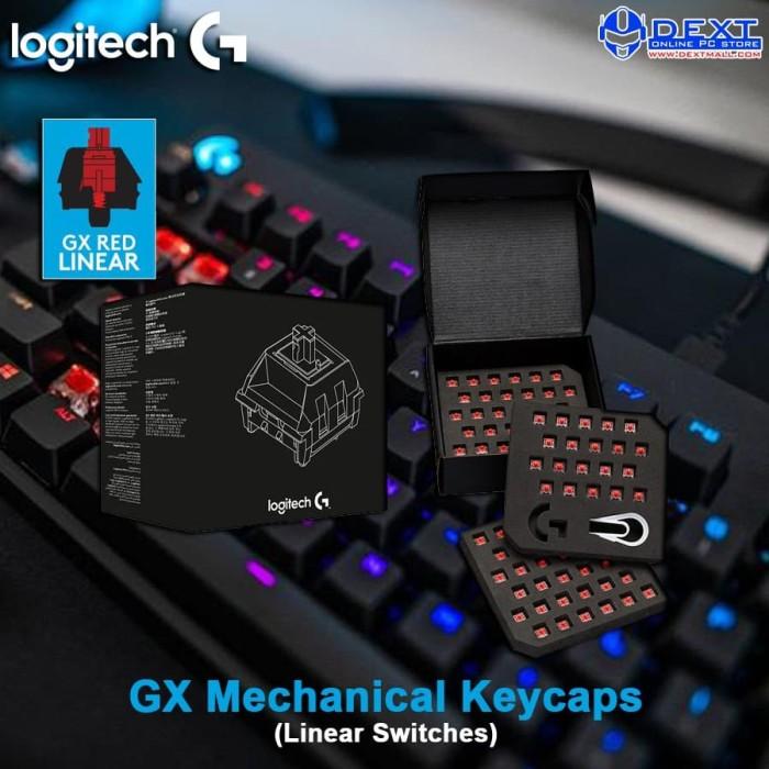 Foto Produk Logitech GX Mechanical Keycaps (Linear Switches) For Pro X dari DextMall