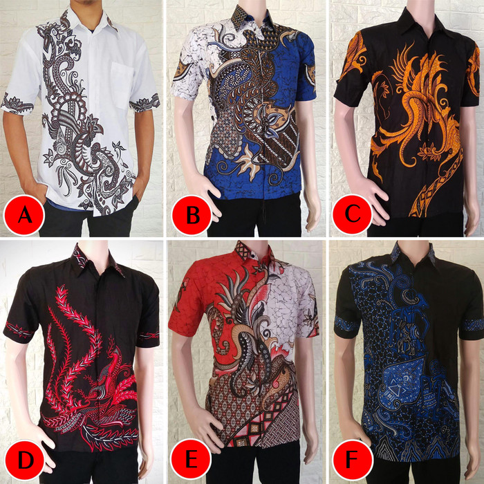 Foto Produk Kemeja Batik Pria Soft Lengan Pendek M L XL XXL dari Pitoo Batik