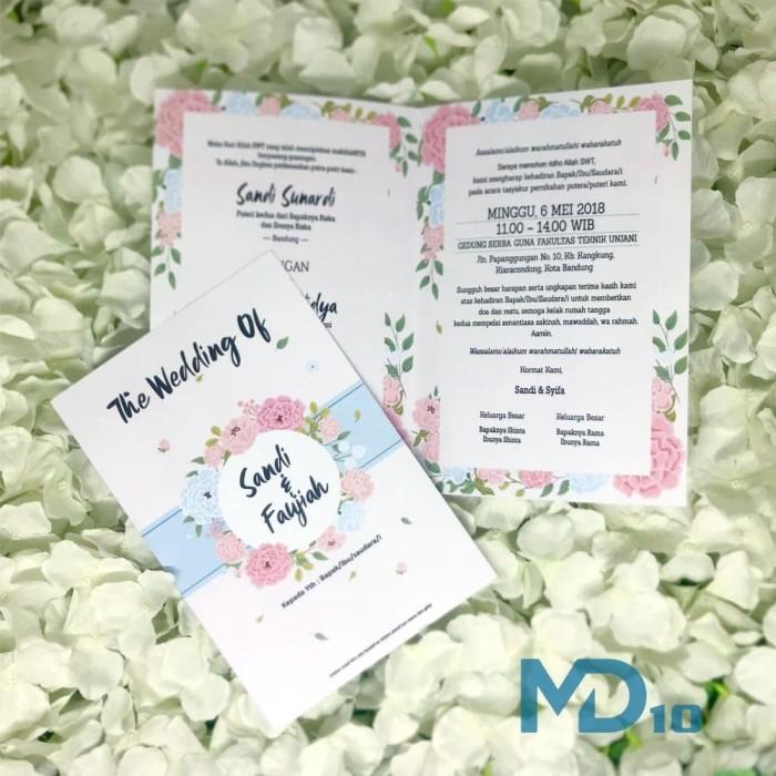 Jual Kartu Undangan Vintage Kekinian Termurah Kode Md 010 Kota Tangerang San Studio Tokopedia