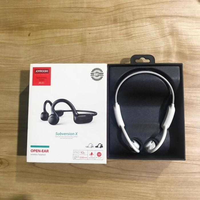 Foto Produk NEW Bluetooth Headset JOYROOM JR-X1 Wireless Bone Conduction - Putih dari GLOBAL INOVASI CAHAYA