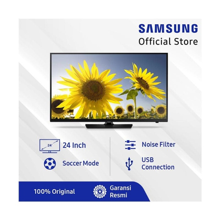 "Foto Produk TV LED SAMSUNG 24"" HD UA24H4150 dari Federal Electronic"