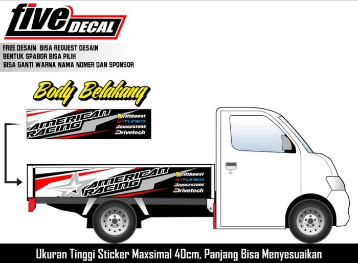 Jual Decal Box Belakang Mobil Pick Up Granmax Dan Sejenisnya 5 Kota Yogyakarta Ghaida Nayyara Putri Tokopedia