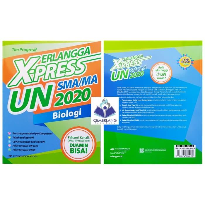 Jual Baru Buku Erlangga Xpress X Press Un Sma 2020 Biologi Jakarta Barat Corneliauwais Tokopedia