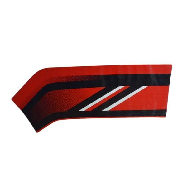 Foto Produk Stripe L FR Cover Type 1 RED - Genio 86543K0JN10ZF dari Honda Cengkareng