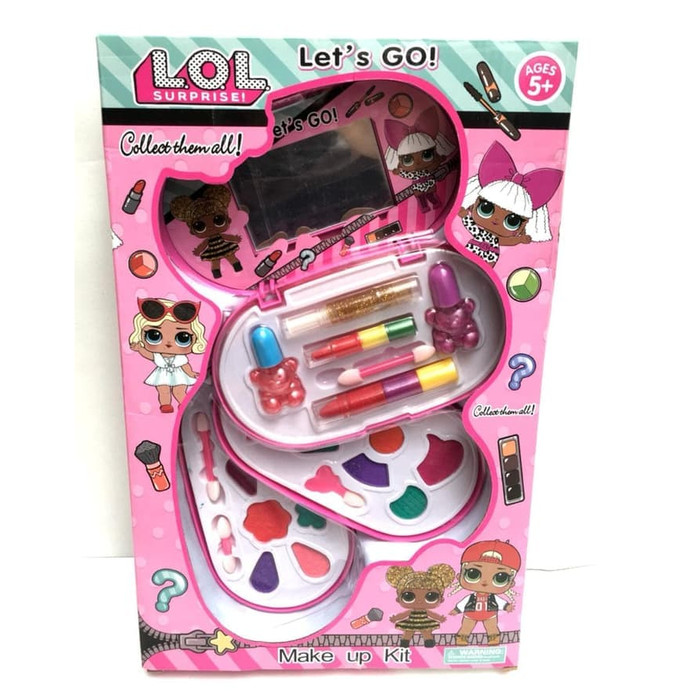 Jual Mainan Anak Perempuan Lol Surprise Make Up Set 3 Susun Pink Mainan Jakarta Pusat Jpn Store Tokopedia