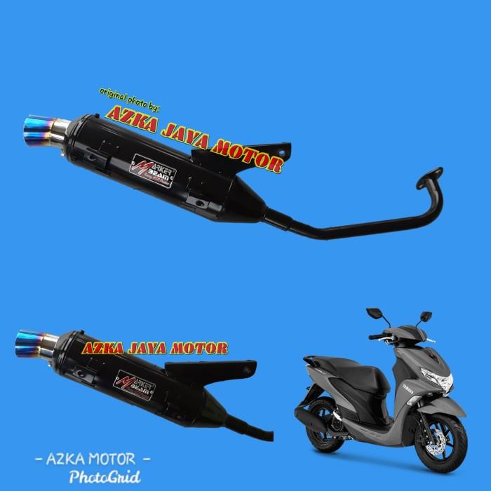 Foto Produk Knalpot Racing Bobokan Freego 125 corong pelangi Marker Beam By CSR dari Azka Jaya Motor