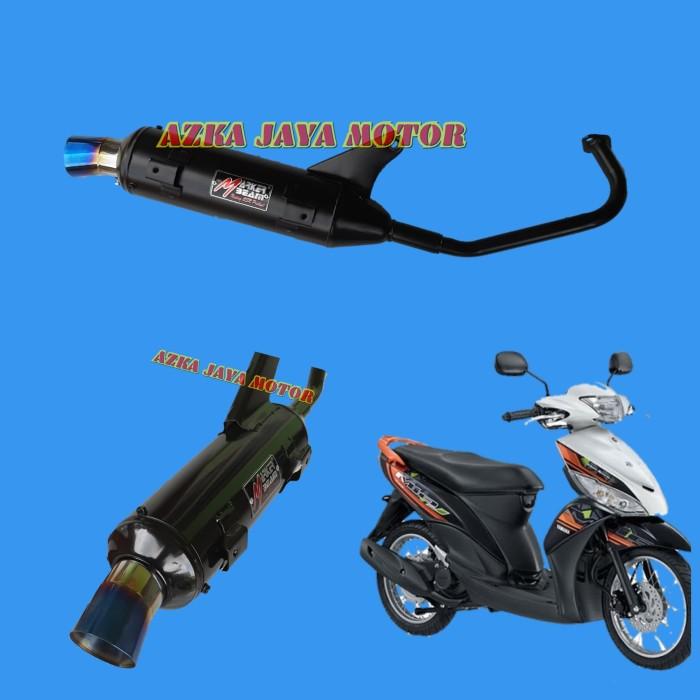 Foto Produk Knalpot Racing Bobokan Mio J corong pelangi Marker Beam By CSR dari Azka Jaya Motor