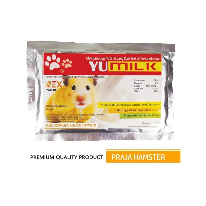 Jual Susu Formula Khusus Hamster Yu Milk Pelengkap Nutrisi Vitamin