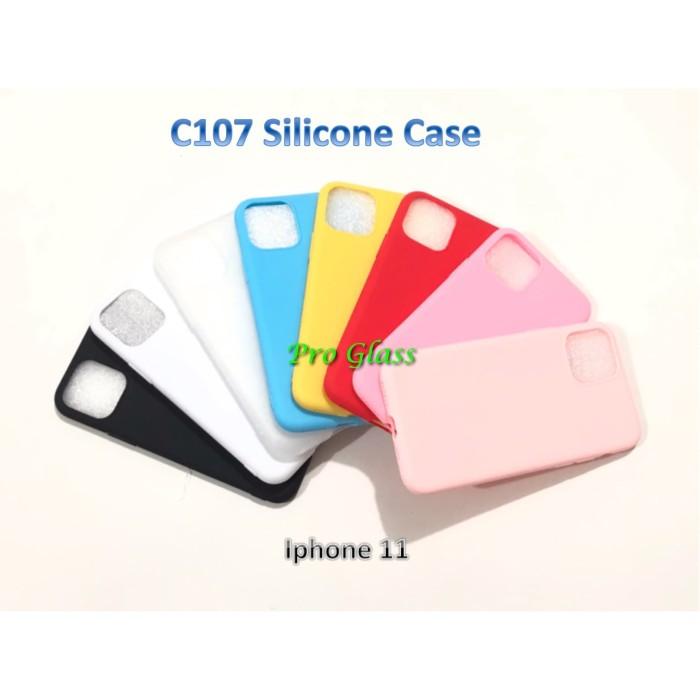 Foto Produk C107 Iphone 11 Colourful Ultrathin Silicone Case / Matte Case dari Pro Glass