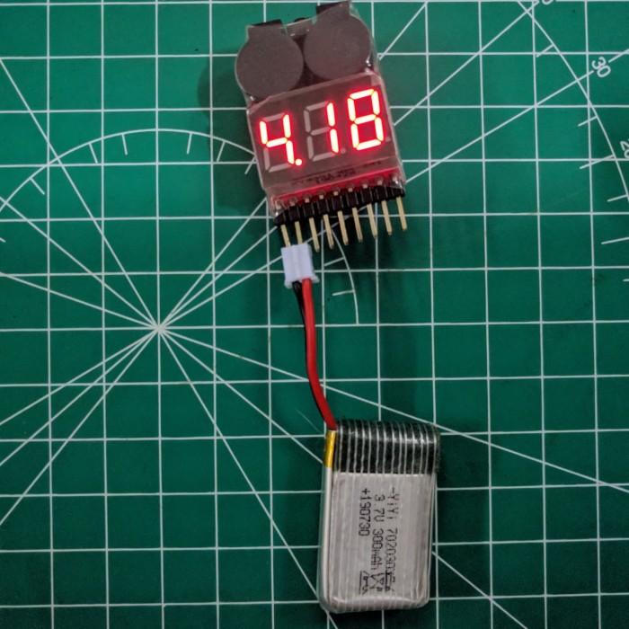 Foto Produk Battery Lipo 3.7V 1S 300 mAh 2nd / bekas dari GADGET4ALL