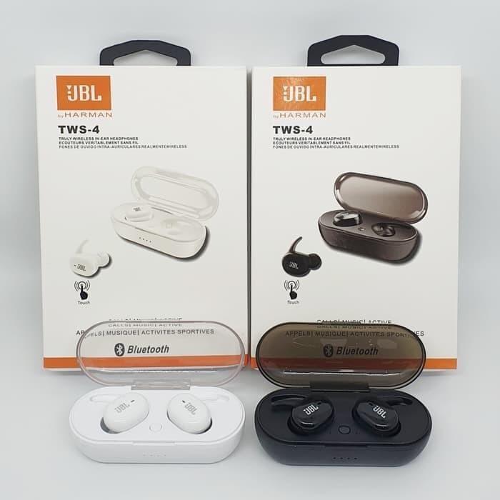 Jual Headset Bluetooth Jbl Tws 4 Kab Sleman Novi Shop88 Tokopedia