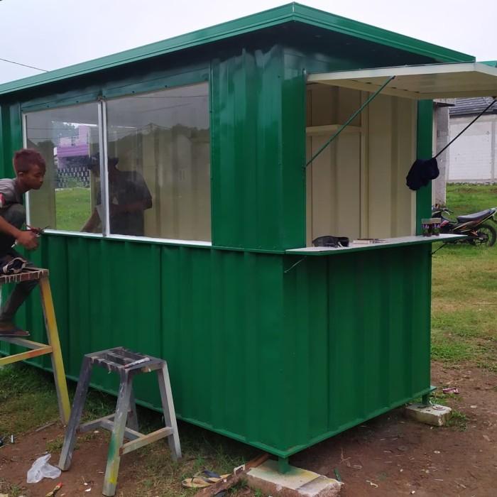 Jual Booth Container 3m X 1 5m Spandek Kota Depok Abimanyuku