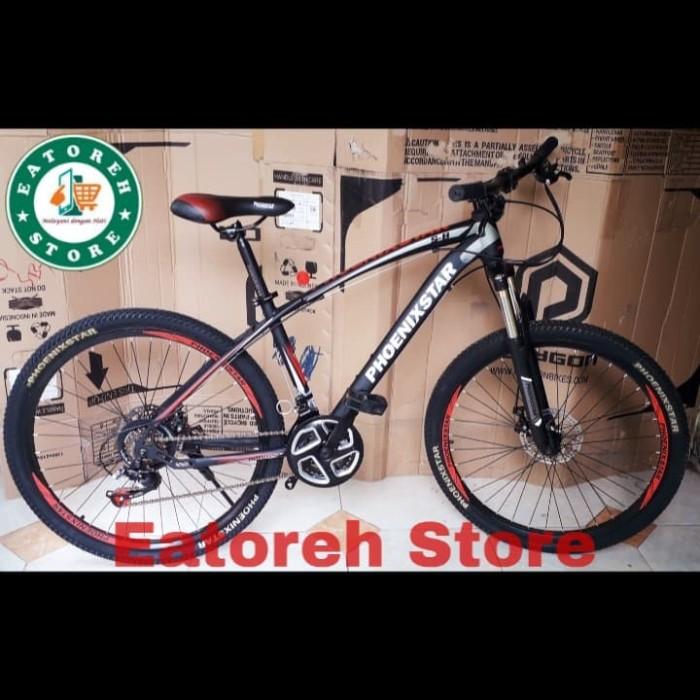 """Jual Sepeda Gunung MTB Phoenix Star 26"""" Inci Keren Harga"""