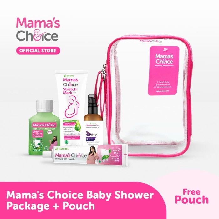 Foto Produk Mama's Choice Baby Shower Package + Free Pouch dari MamasChoiceID