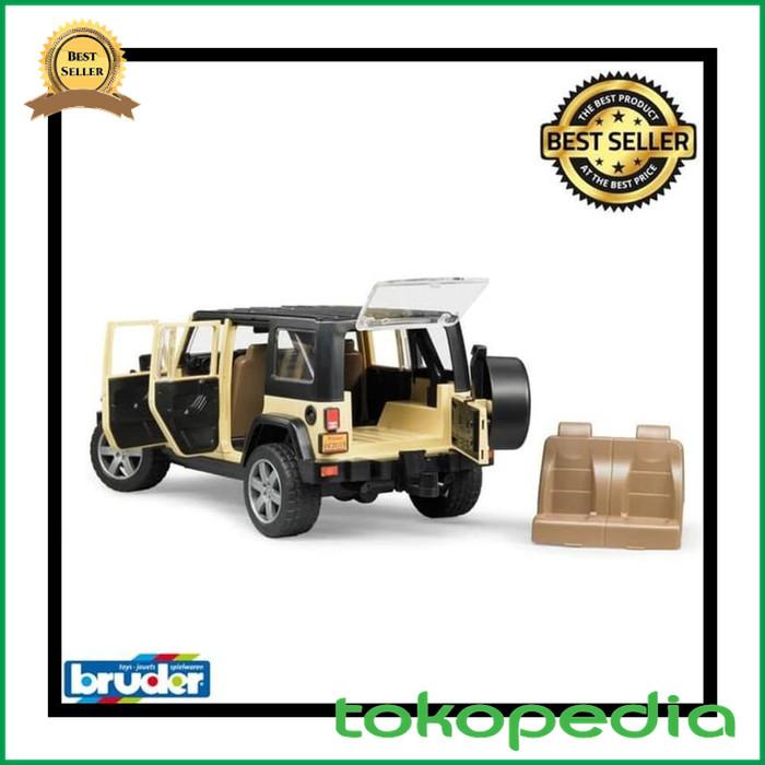 Jual Termurah Diecast Car Bruder Toys 2525 Jeep Wrangler Unlimited Rubicon Jakarta Timur Dyah Mart Tokopedia