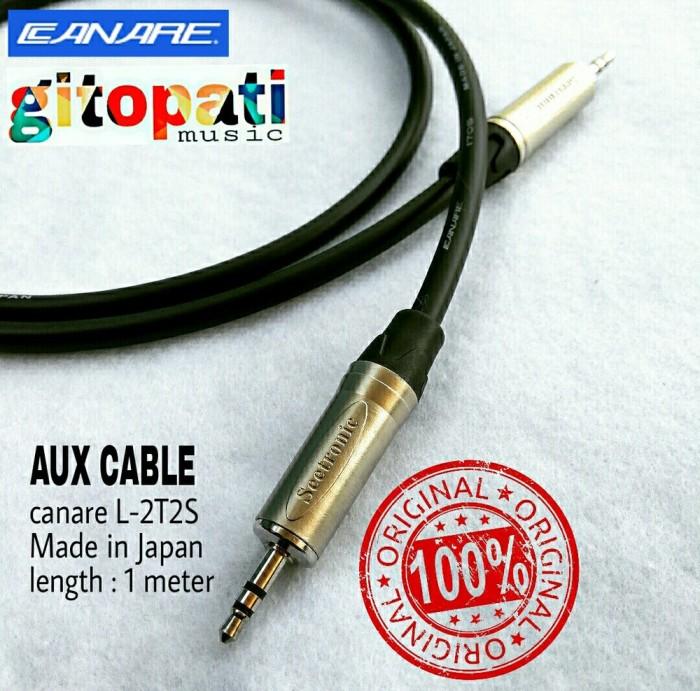 Jual Aux Cable Kabel Aux Hp Laptop Pc Speaker Mixer Dll Canare Japan Origi Kota Surabaya Fatimzaroh Shop Tokopedia