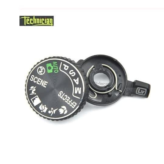 Foto Produk Kamera D5300 Top Cover Mode Dial Button Camera Repair Parts For Nikon dari NMZ Shopping center