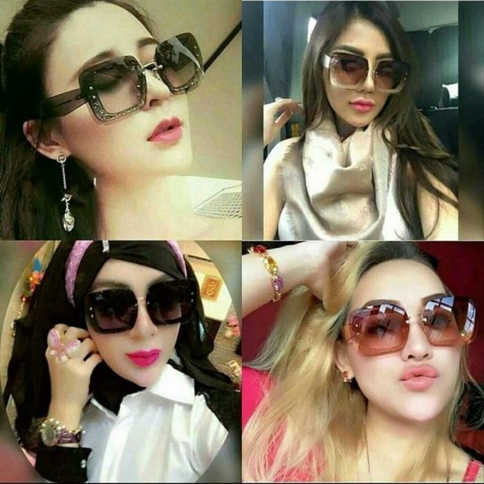 Foto Produk best seller kacamata fashion sunglasses wanita miu miu gliter super dari pajar olshop