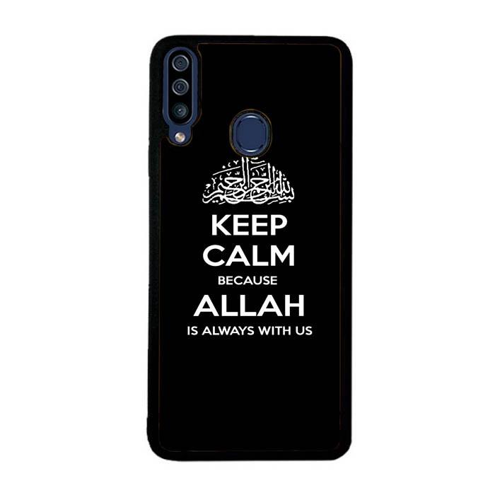 Jual Casing Hp Samsung Galaxy A20s Wallpaper Keep Calm Logo Inscription Kota Semarang Infinity Case Store Tokopedia