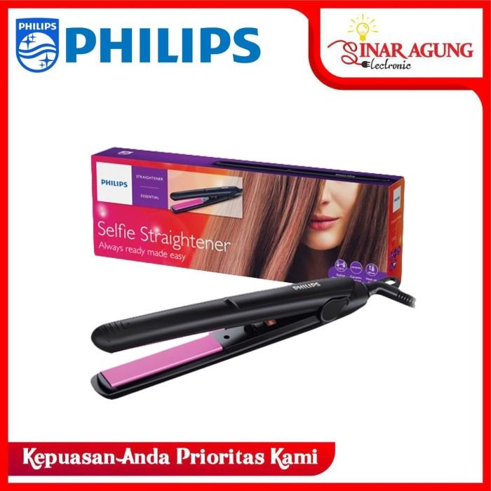 Foto Produk Philips HP8302 Hair Straightener Hitam Alat Pelurus Rambut dari sinar agung electronic