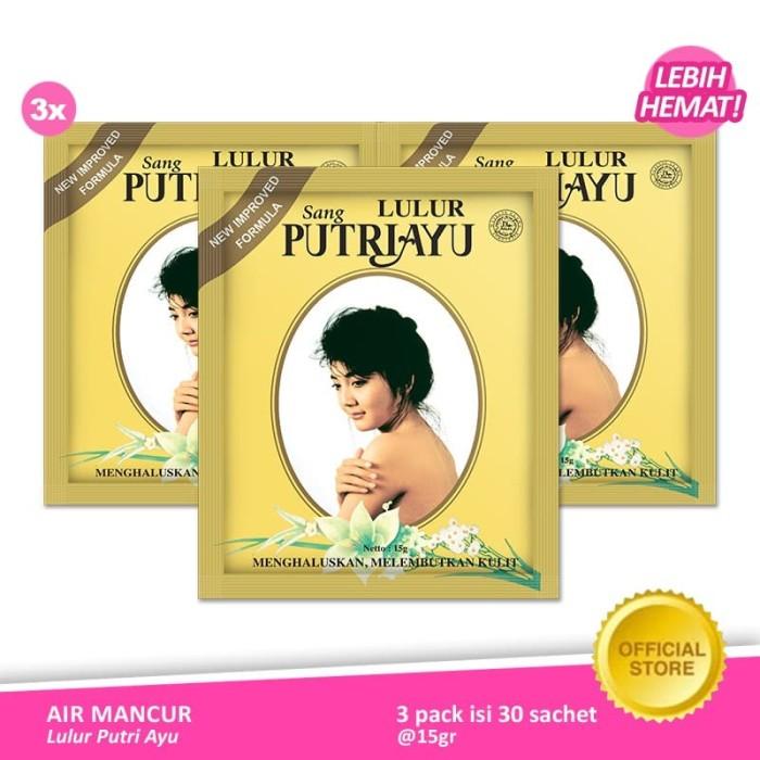 Foto Produk Lulur Putri Ayu Lulur Pengantin (bundle 3pcs) dari Air Mancur Official Shop