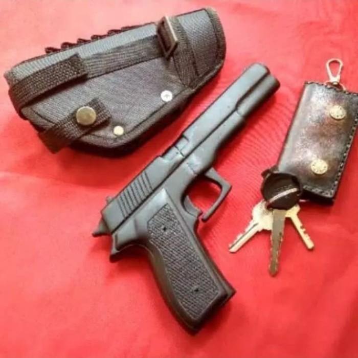 Jual Sangkur Pistol Fn Pisau Bentuk Pistol Kab Tangerang Sinar Ad Tokopedia