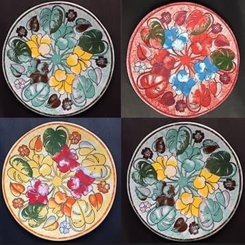 Foto Produk Piring kue motif-Limited Edition|Salad Plate D.21cm|piring hias HN dari GALAXY HouseholdCeramics