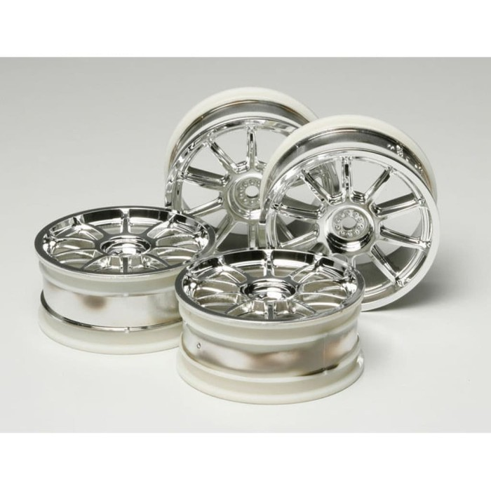 Foto Produk 53860 Tamiya 24 mm 10 Spoke Wheels (4 pcs) dari Tamiyatoys