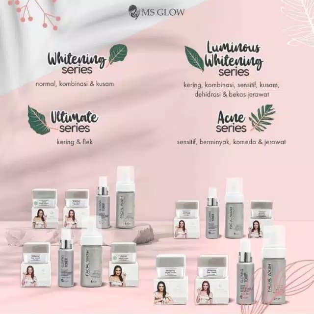 Jual Ms Glow Whitening Series By Cantik Skincare Kab Sidoarjo Amanah Store Sda Tokopedia