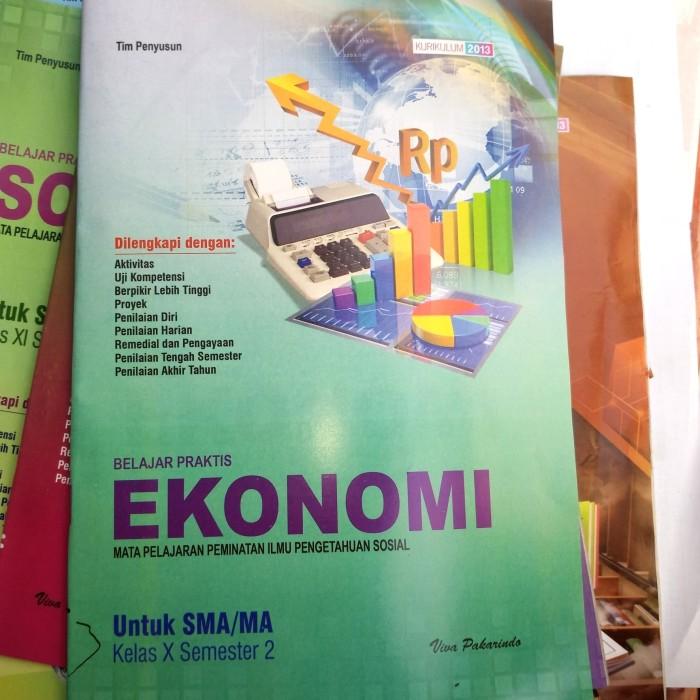 Jual Buku Lks Ekonomi Kelas 10 Sma Semester 2 Viva Kota Madiun