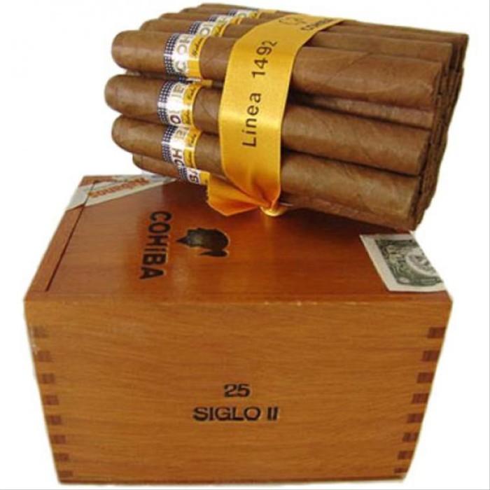 Foto Produk New Cohiba Siglo II Box-25 Cuban Cigar Cerutu - Bonus Cutte bgr22 dari fifahari