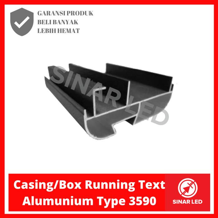 Foto Produk Casing/BOX Running Text Aluminium type 3590 dari sinar led