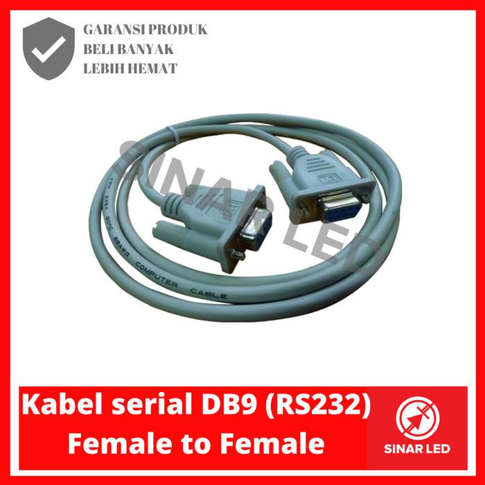 Foto Produk KABEL SERIAL DB9 (RS232) FEMALE TO FEMALE dari sinar led