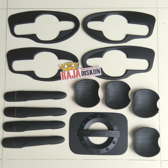 Foto Produk Cover handle outer mangkok pintu & tanki all new xenia hitam black dari RAJA DISKON