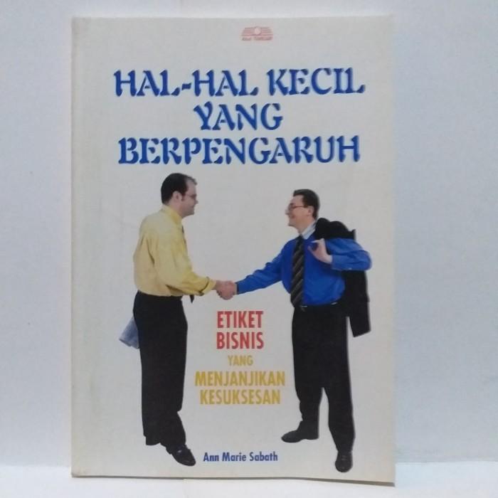 Jual Hal Hal Kecil Yang Berpengaruh Oleh Ann Marie Sabath Jakarta Timur Sachi Woori Seojom Tokopedia