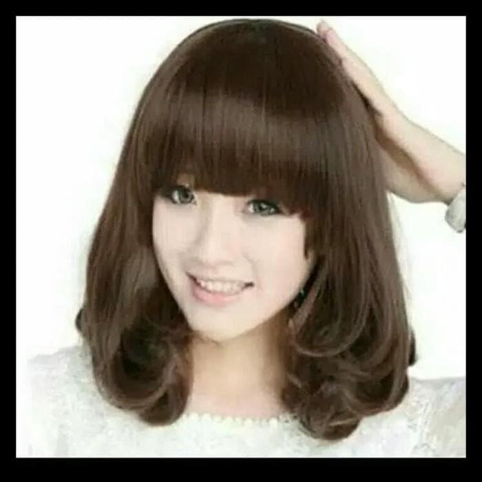 Jual Terbaru Wig Rambut Wanita Model Ikal Rambut Palsu Hair Extension Jakarta Barat Nimo Kb Tokopedia