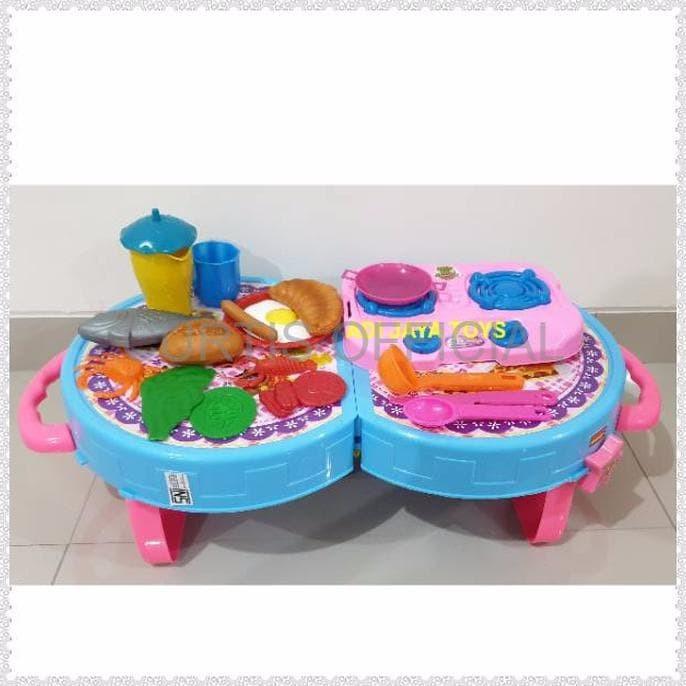 Jual Mainan Murah Mainan Anak Kecil Masak Masakan Anak Kitchen Set Peralat Jakarta Barat Ghefira Store Tokopedia