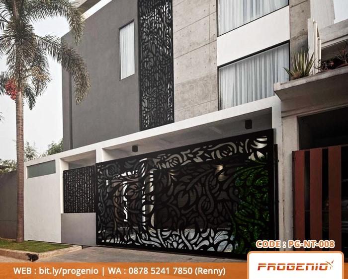 Jual Pagar Minimalis | Pagar Rumah | Pagar Plat Besi | Pagar Laser Cutting  - Kota Surabaya - ProgenioShop | Tokopedia