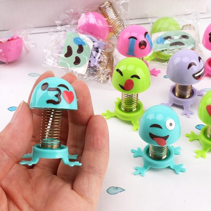 Jual Borong Boneka Emoji Mainan Anak Auto Deco Musim Semi Mainan