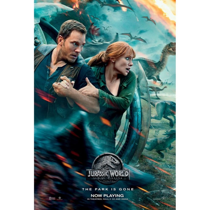 Jual Dvd Jurassic World Fallen Kingdom 2018 Jakarta Barat Idmovies Tokopedia