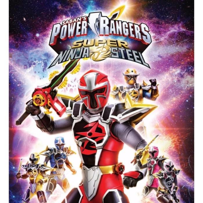 Jual Dvd Power Rangers Super Ninja Steel Sub Indo Kota Yogyakarta Artista Shop 94 Tokopedia