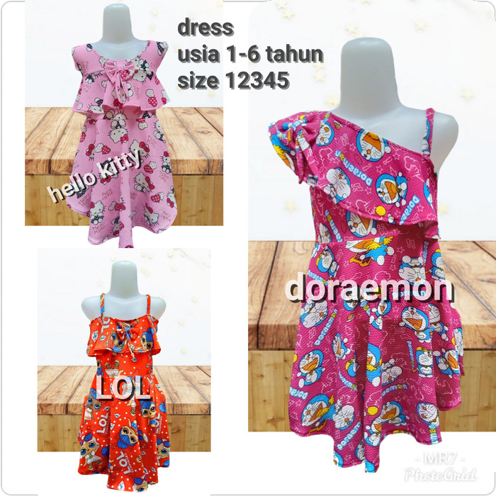 Foto Produk dress anak / dress modis anak - 1-2 Tahun dari MR Colection Bandung