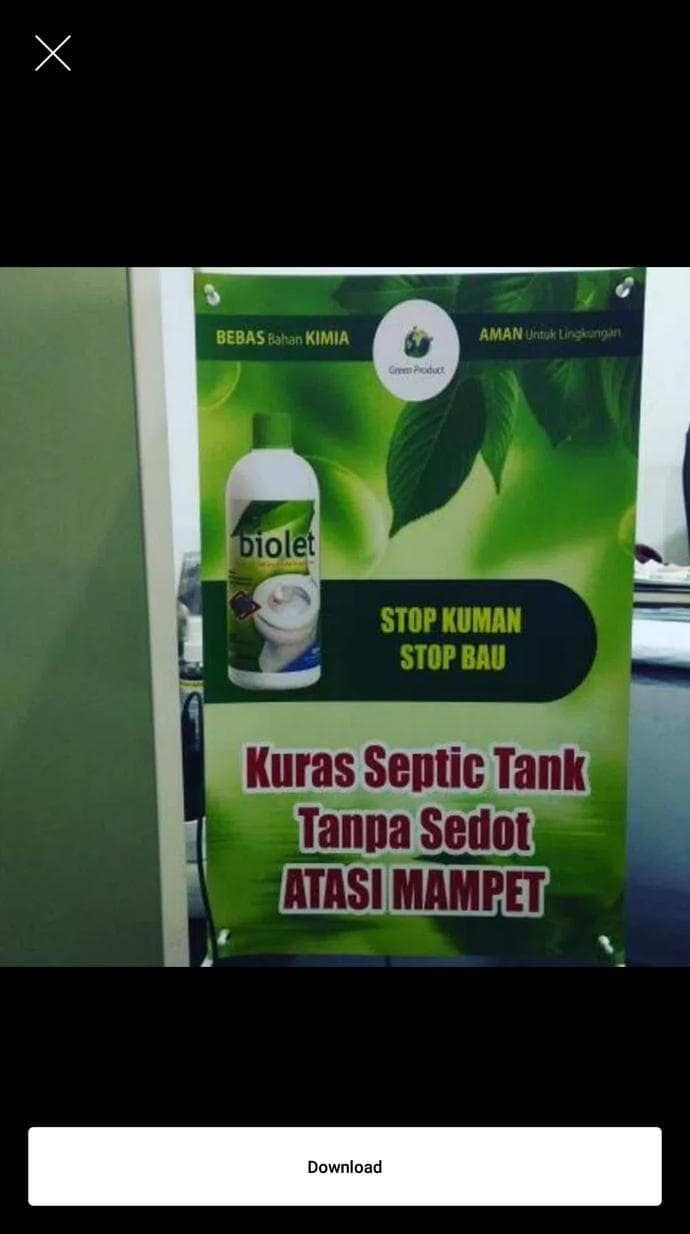 Jual HOT SALE Penghilang Bau Penguras Septic Tank Toilet Wc Toilet Bakteri Jakarta Utara Dony Ds