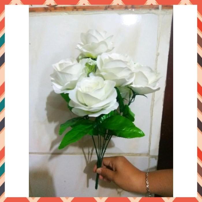 Jual Bunga Mawar Plastik Jakarta Selatan Wahyuwarya 44 Tokopedia